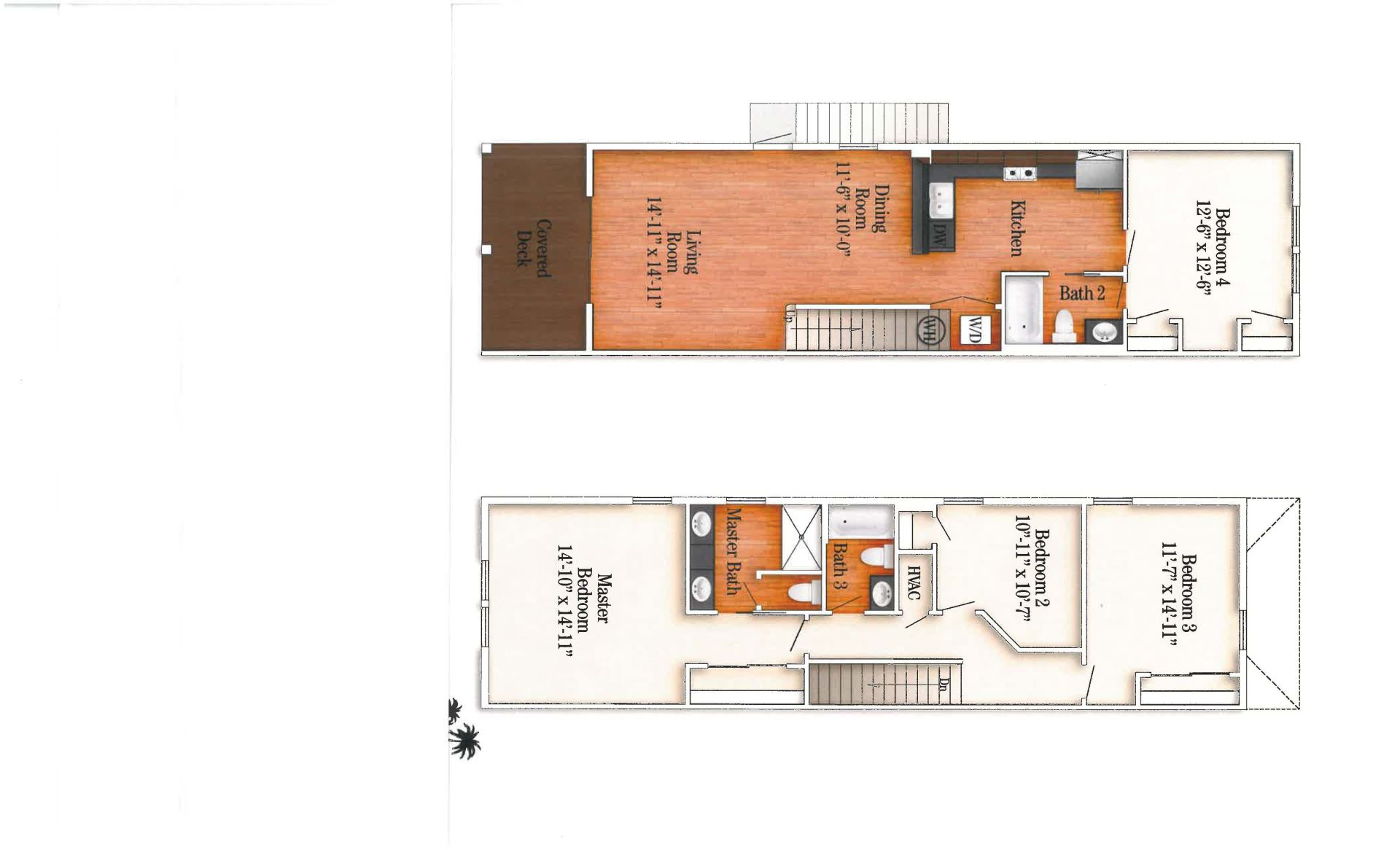 Floor Plan for REELaxation 4BR/3BA by Sombrero Beach with Pool and Dockage PLR2016-00341