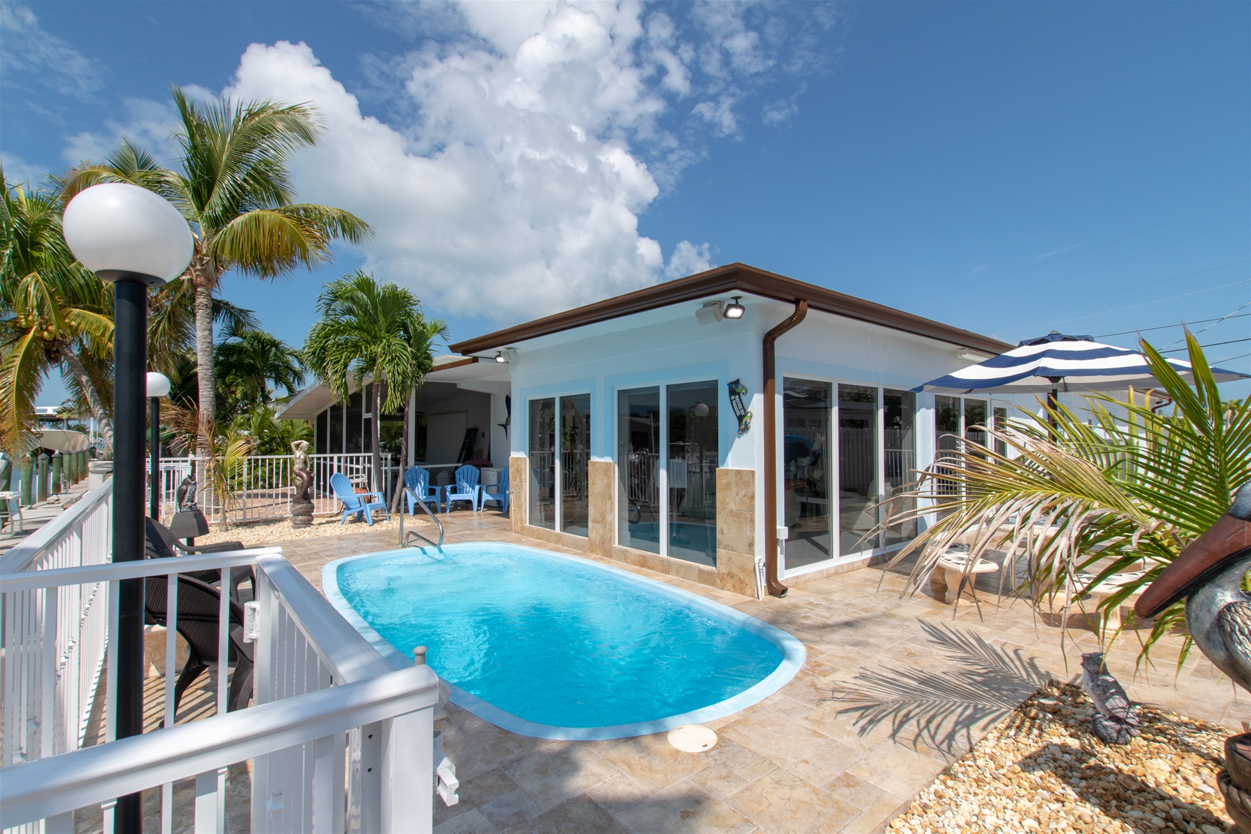 Floor Plan for Casa Blanca Canal Front Luxury Vacation Rental w/ Game Room & Pool